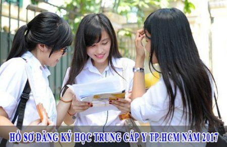 Hồ sơ đăng ký học Trung cấp Y TPHCM năm 2017