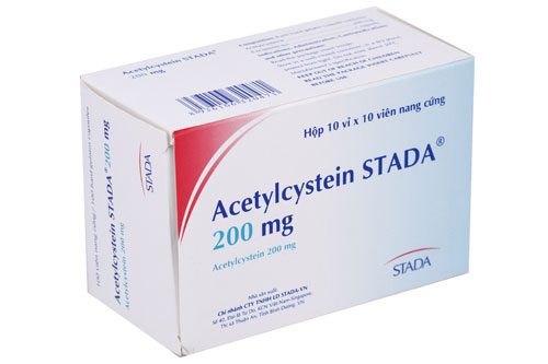 Thuốc Acetylcystein STADA