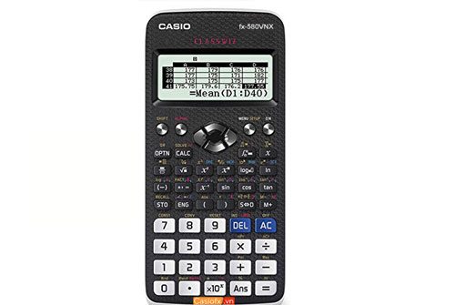 có thể mang Casio FX 580VNX vào phòng thi theo quy định mới