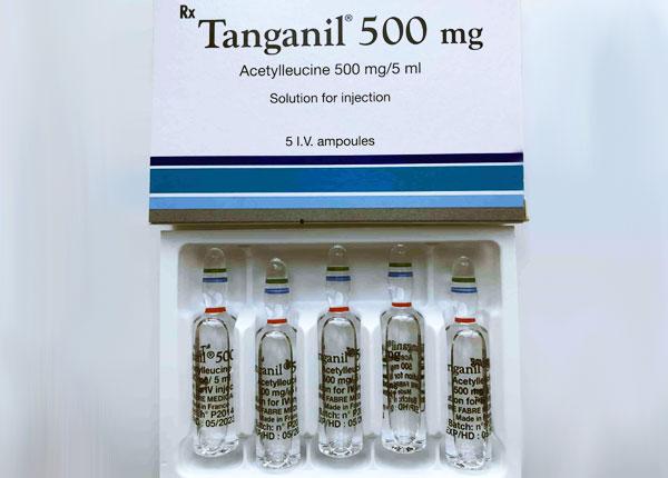 Thuốc Tanganil dạng dung dịch 500mg/5ml