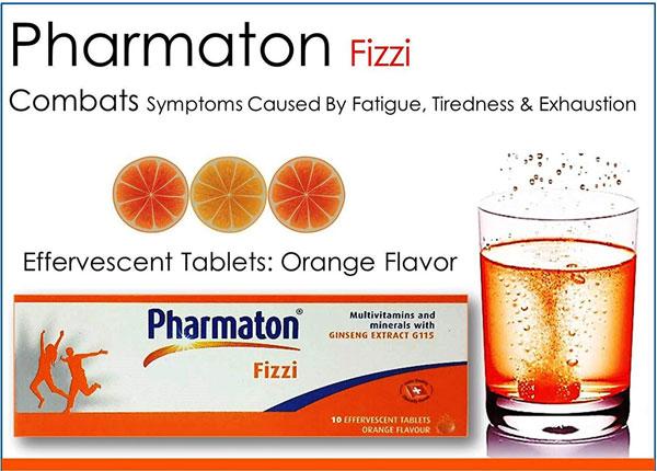 Công dụng và liều dụng của thuốc Pharmaton Fizzi