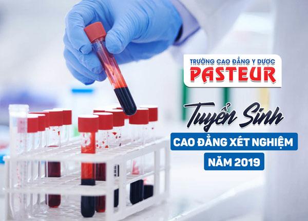 Thông tin tuyển sinh cao đẳng xét nghiệm TPHCM năm 2019