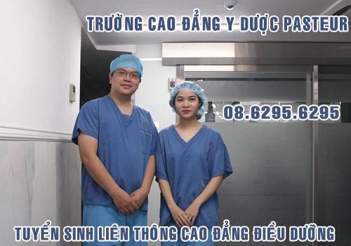 Địa chỉ liên thông cao đẳng điều dưỡng tại Sài Gòn