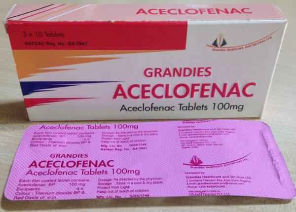 Aceclofenac có công dụng gì?