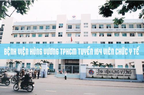 Bệnh viện Hùng Vương tuyển viên chức năm 2017