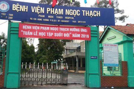 Bệnh viện Phạm Ngọc Thạch tuyển dụng năm 2018