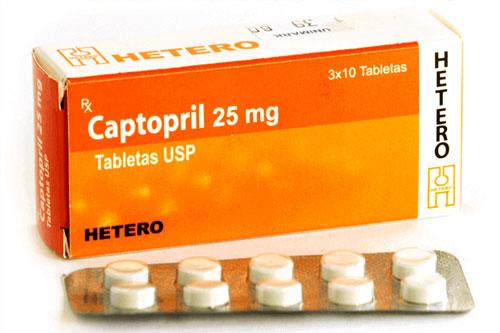Thuốc Captopril 25mg