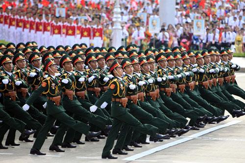 Các trường quân đội công bố chỉ tiêu tuyển sinh năm 2018