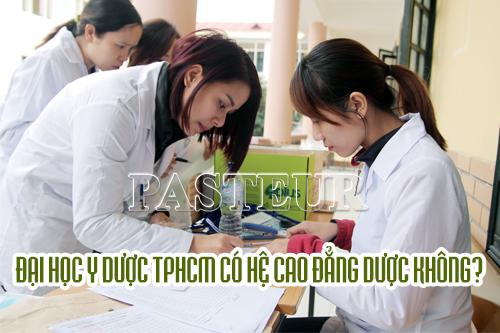 Đại học Y Dược TPHCM có đào tạo Cao đẳng Dược không?