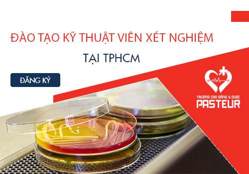 Đào tạo kỹ thuật viên xét nghiệm tại TPHCM