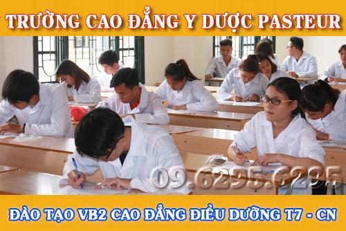 Đào tạo Văn bằng 2 Cao đẳng Điều dưỡng T7 - CN