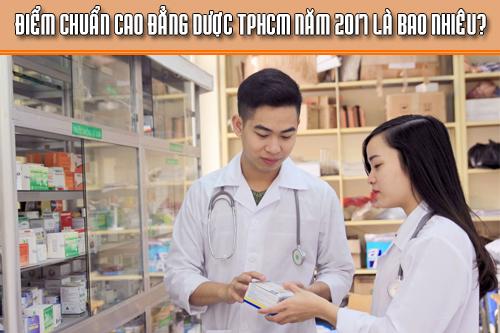 Điểm chuẩn Cao đẳng Dược TPHCM là bao nhiêu?
