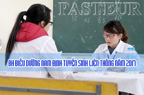 Tuyển sinh liên thông Đại học Điêu dưỡng Nam Định năm 2017