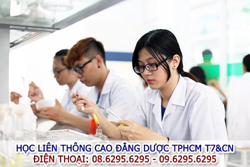 Đào tạo liên thông Cao đẳng Dược T7 & CN
