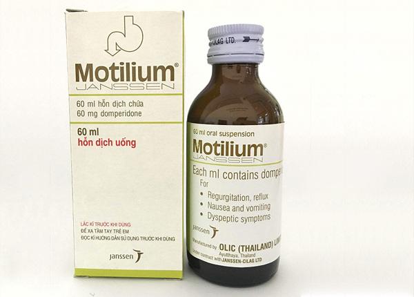 Thuốc Motilium dạng dung dịch