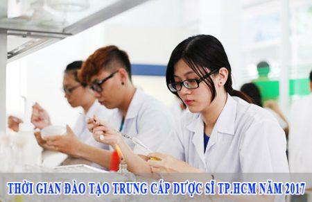 Thời gian đào tạo Trung cấp Dược sĩ TP.HCM năm 2017