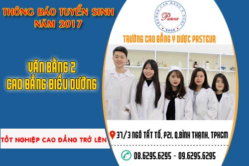Tuyển sinh văn bằng 2 Cao đẳng Điều dưỡng năm 2017