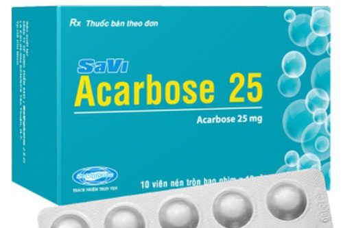 Thuốc Acarbose 25mg
