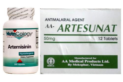 Thuốc artemisinin điều trị sốt rét