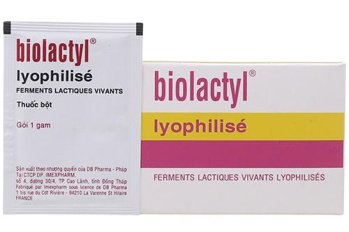 Cách sử dụng thuốc Biolactyl