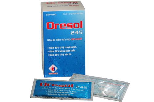 Tư vấn sử dụng thuốc Oresol