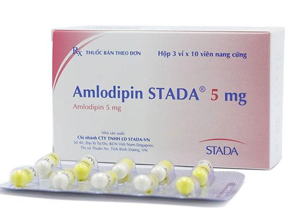 Thuốc Amlodipin điều trị huyết áp cao hay bệnh đau thắt ngực