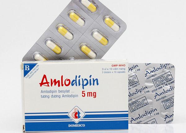 Thuốc Amlodipin điều trị bệnh gì?