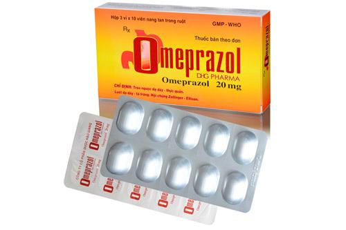 Công dụng liều dụng thuốc omeprazol 20mg là gì?