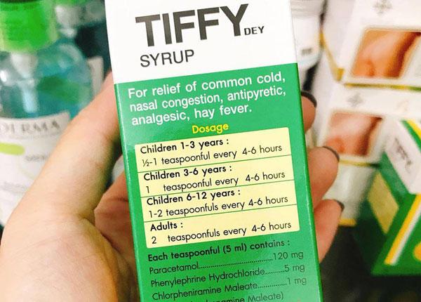 Thuốc Tiffy dạng siro