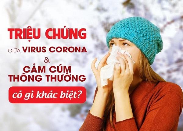 Cúm mùa và bệnh do virus corona khác nhau ra sao?