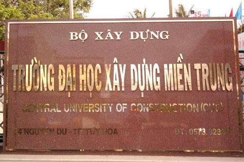 Đại học Xây dựng miền Trung xét tuyển đại học mức 11 điểm