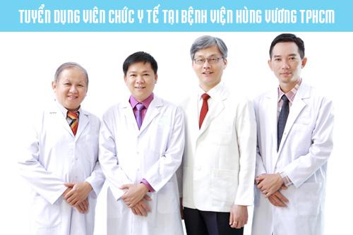 Bệnh viên Hùng Vương tuyển viên chức năm 2017