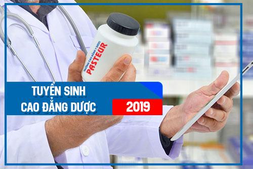 Thông tin tuyển sinh cao đẳng dược năm 2019