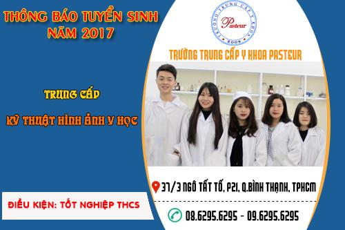 Tuyển sinh Trung cấp Kỹ thuật hình ảnh y học năm 2017