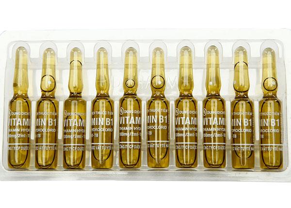 Thuốc Vitamin B1 dạng dung tịch tiêm