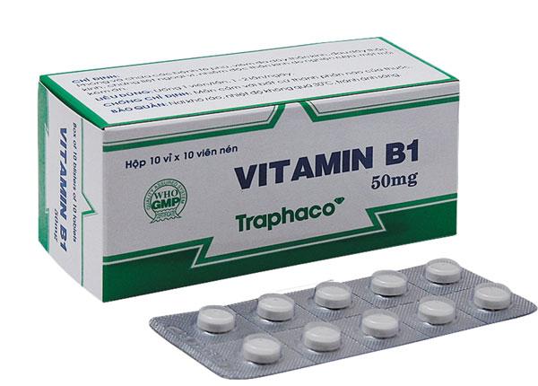Tìm hiểu thuốc Vitamin B1