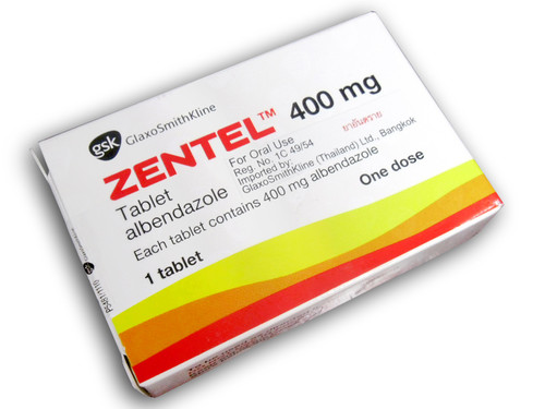 Công dụng và liều dùng thuốc Zentel